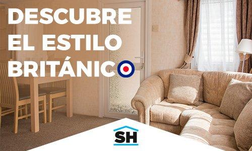 Salón de una casa de estilo británico