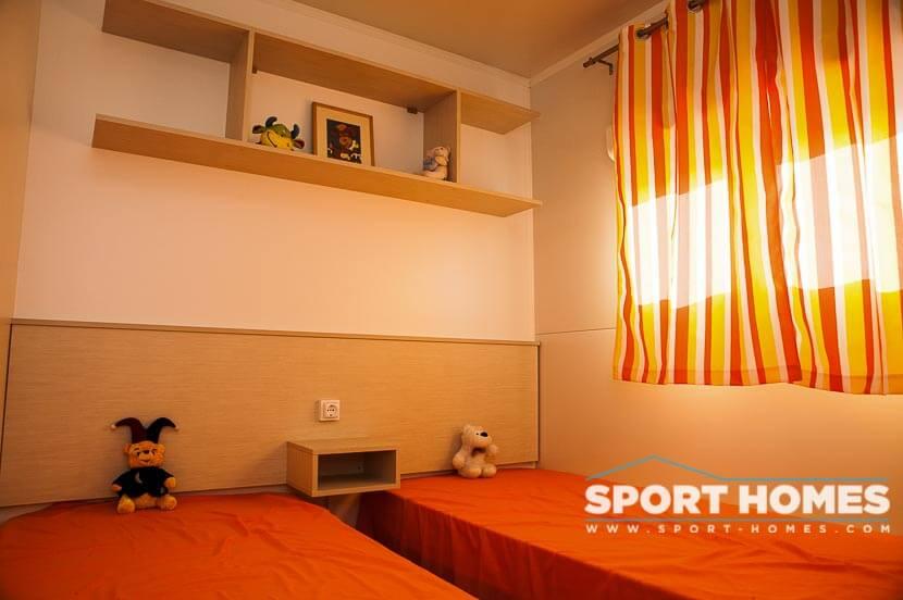 Casa prefabricada Caribe Jamaica habitación 2 camas