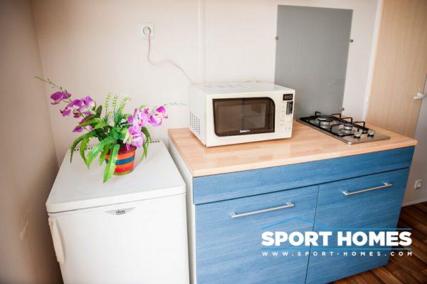 Casa prefabricada IRM Domino cocina