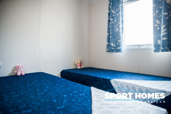 Casa prefabricada IRM Domino habitación 2 camas