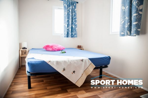 Casa prefabricada IRM Domino habitación de matrimonio