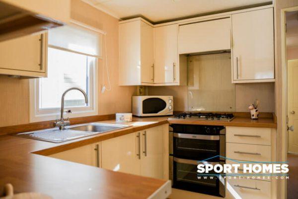 Casa prefabricada Atlas Topaz vista cocina