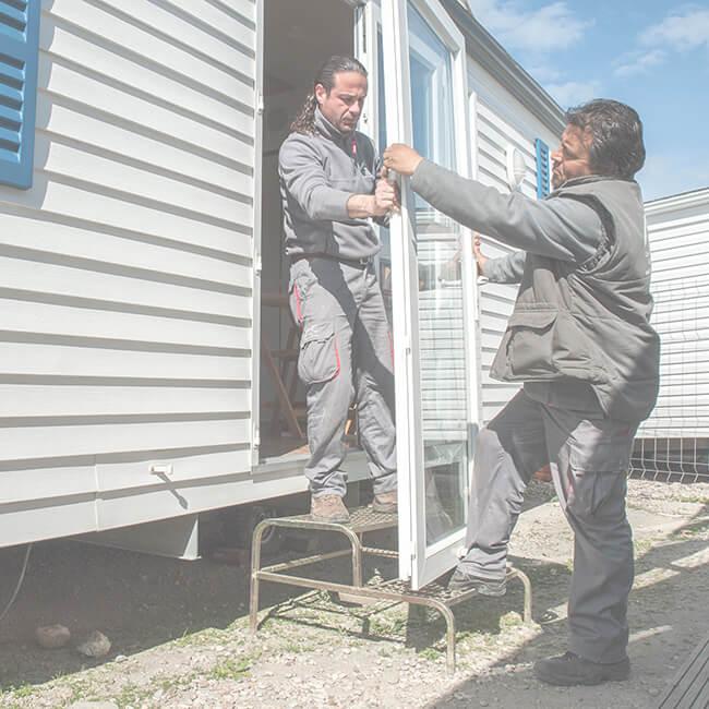 Instalación profesional de Mobil Homes
