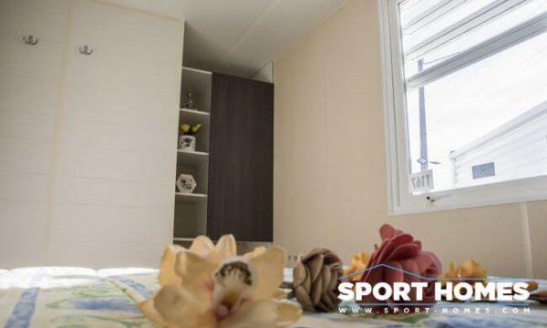 Casa prefabrida de ocasión Ohara Ophea 734 Luxe habitación matrimonio detalle