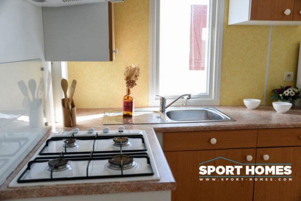Casa prefabrida de ocasión Riderev Bermudas 3 CH cocina