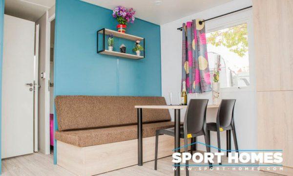 Casa Prefabricada nueva Modular Sport comedor