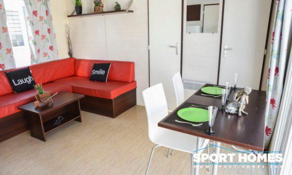 Casa Prefabricada de ocasión Ohara Ophea 2CH Luxe comedor salón