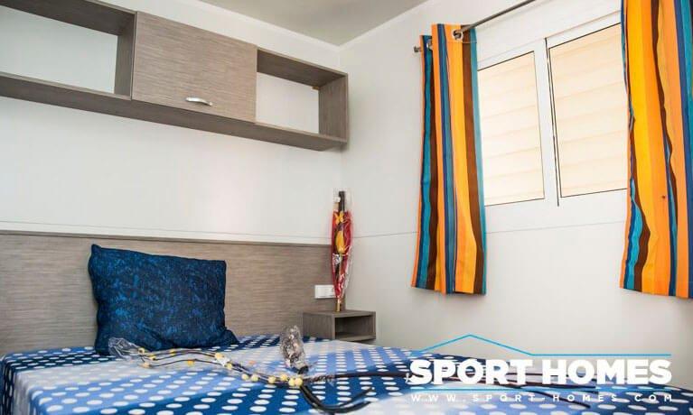 Casa Prefabricada nueva Caribe Nicaragua dormitorio de matrimonio