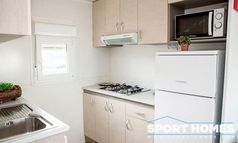 Casa prefabricada nueva Caribe Plus Costa Rica 3CH cocina