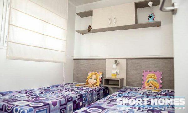 Casa prefabricada nueva Caribe Plus Costa Rica 3CH dormitorio 1