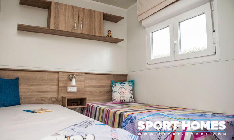 Casa prefabricada nueva Caribe Plus Guatemala dormitorio