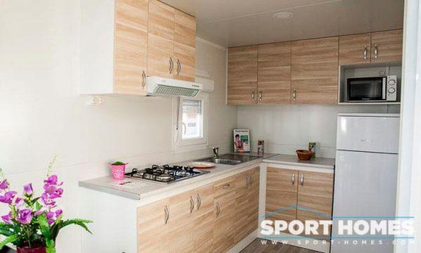 Casa Prefabricada nueva Caribe Plus Panamá cocina