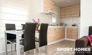 Casa Prefabricada nueva Caribe Plus Panamá comedor-cocina