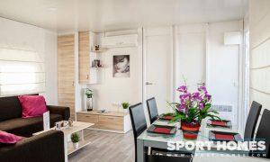 Casa Prefabricada nueva Caribe Plus Panamá salón-comedor