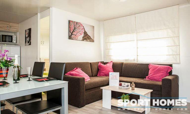 Casa Prefabricada nueva Caribe Plus Panamá salón