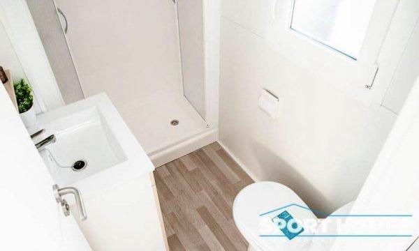 Casa Prefabricada nueva Caribe Plus Panamá baño