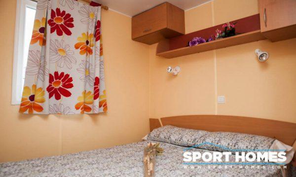 Casa prefabricada ocasión IRM Super Mercure habitación matrimonio