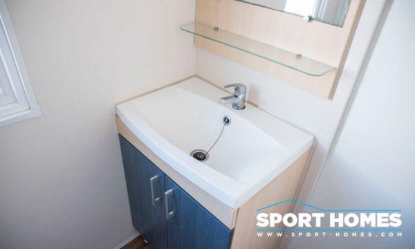 Casa prefabricada ocasión IRM Super Mercure 2CH lavabo