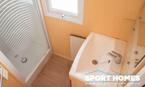 Casa prefabricada de ocasión IRM Super Familie. Baño