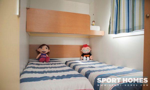 Casa prefabricada Lousiane Mediterráneo porche habitación