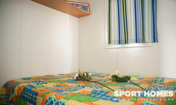 Casa prefabricada Lousiane Mediterráneo porche habitación matrimonio
