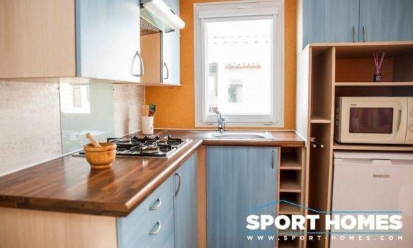 Casa prefabricada Lousiane Oceane cocina