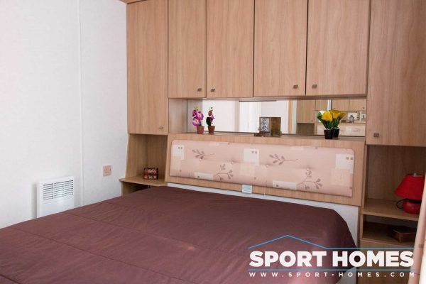 Habitación de la mobil home Carbany Rosalede Grand Luxe