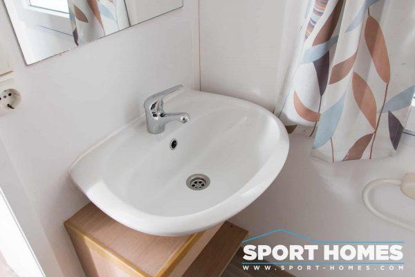 Lavabo del baño de la mobil home Sun Roller Atlantic