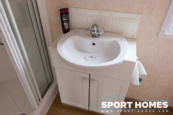 Lavabo del baño de la mobil home Willerby Westmorland 2CH
