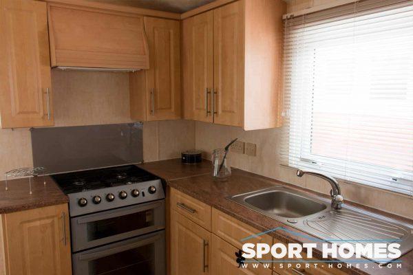 Cocina de la mobil home Willerby Westmorland 2CH