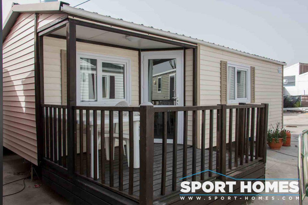 Mobil home con porche - Sun Roller Atlantic