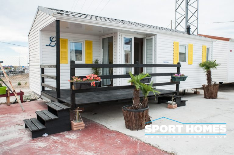 Mobil home con porche - Louisiane Pacifique