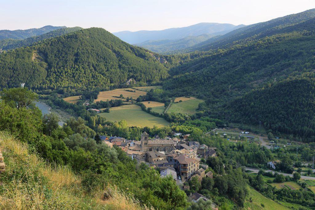 Vistas de Huesca (Aragón, España)