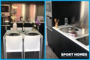 Cocina de la casa prefabricada Panamá Grand Luxe